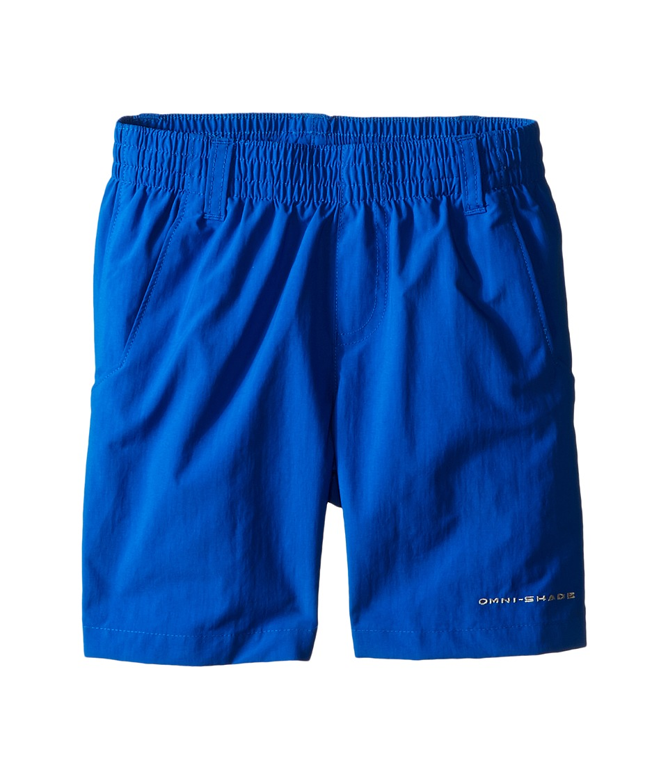 Columbia Kids Backcast Short Little Kids/Big Kids Super Blue Boys Shorts
