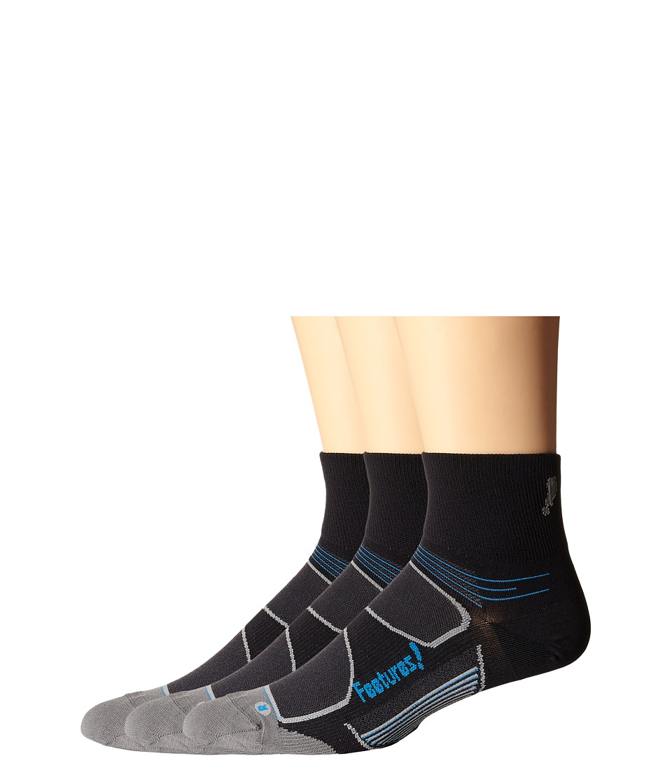 Feetures - Eliter Ultra Light Quarter 3-Pair Pack