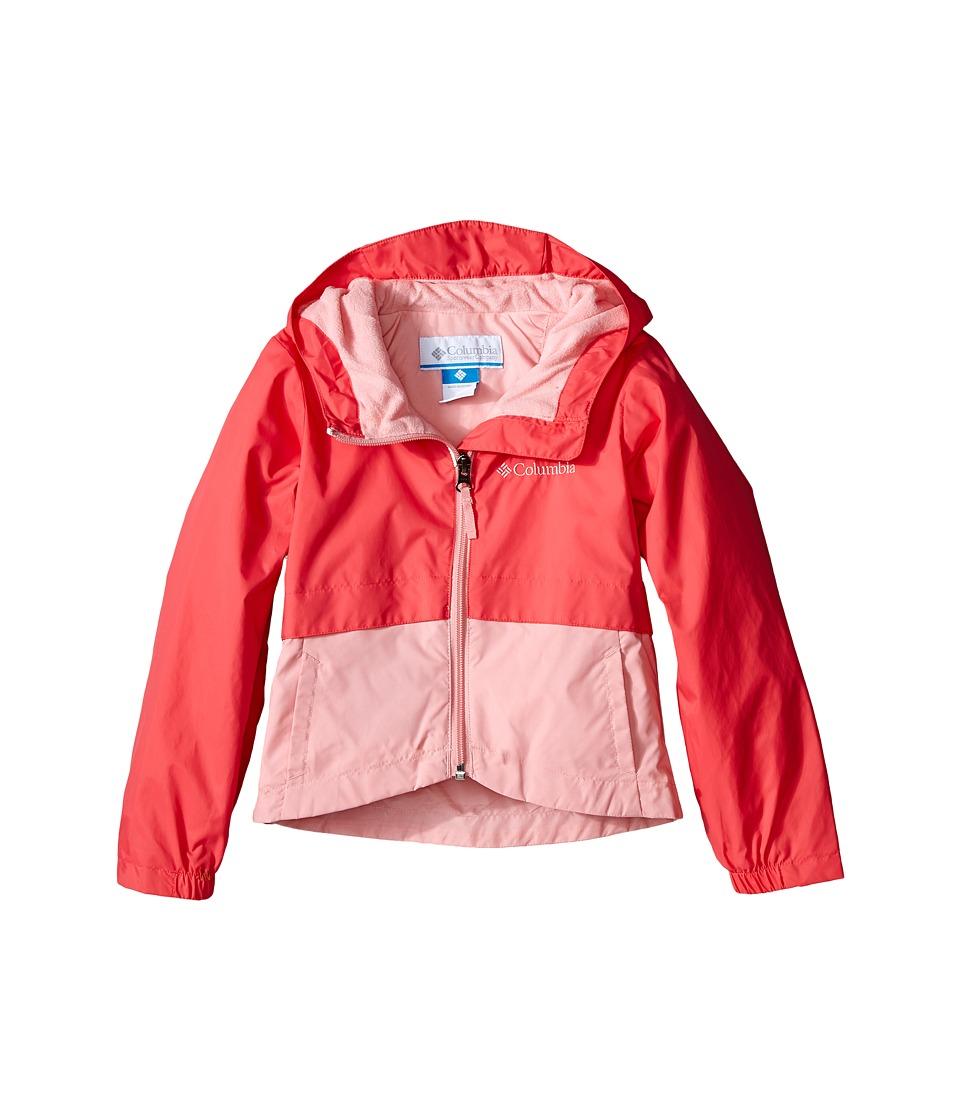 Columbia Kids Rain Zilla Jacket Little Kids/Big Kids Bright Geranium Girls Coat
