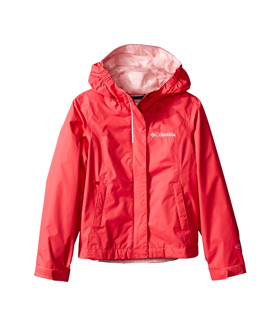 Columbia Kids Arcadia Jacket Little Kids/Big Kids Bright Geranium Girls Coat