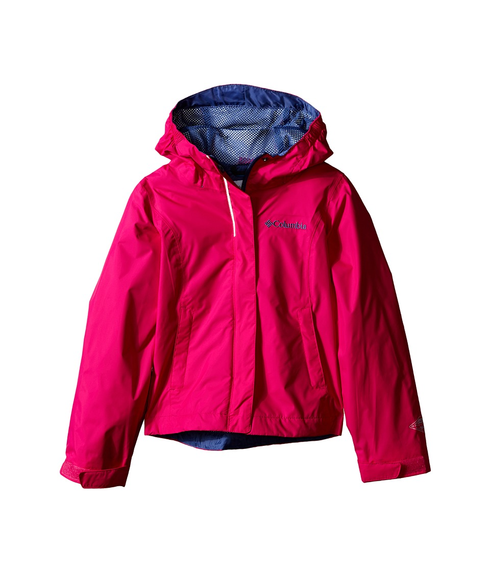 Columbia Kids Arcadia Jacket Little Kids/Big Kids Haute Pink Girls Coat