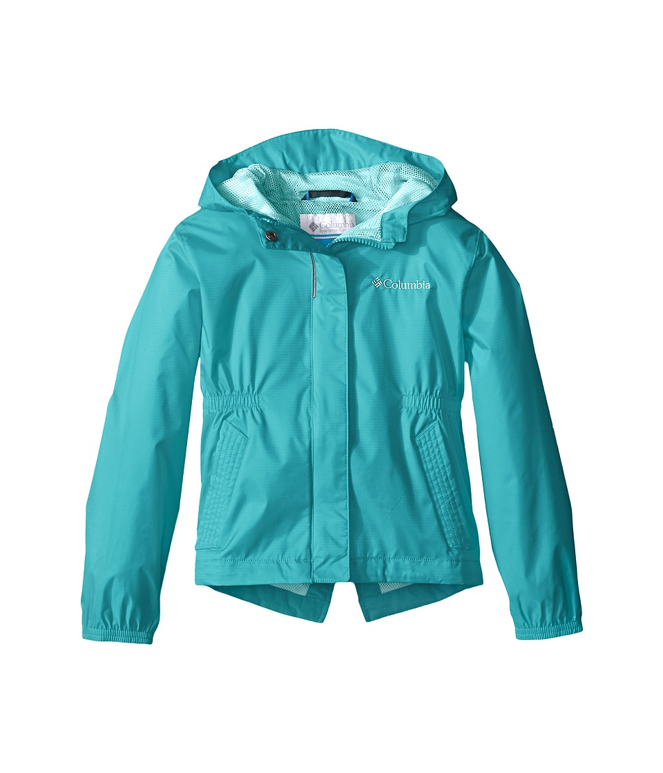Columbia Kids Explore More Rain Jacket Little Kids/Big Kids Miami Girls Coat