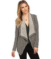 BB Dakota - Edie Marled Chevron Pattern Jacket