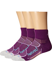 Feetures - Elite Merino+ Light Cushion Quarter 3-Pair Pack