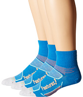 Feetures - Elite Merino+ Ultra Light Quarter 3-Pair Pack
