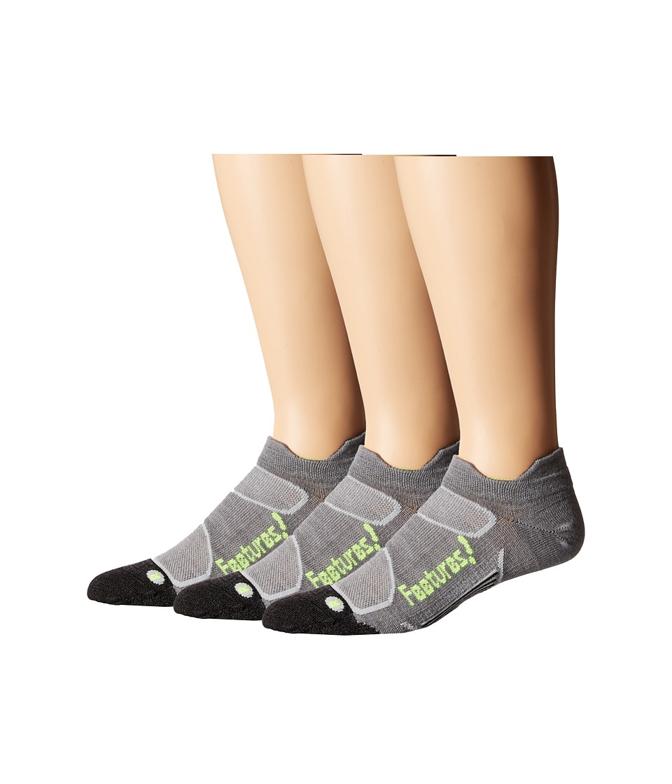 Feetures - Elite Merino+ Ultra Light No Show Tab 3-Pair Pack