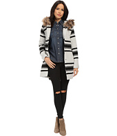 BB Dakota - Weslan Striped Jacquard Coat