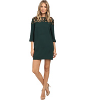 BB Dakota - Keagan Lace Yoke Heavy Crepe Dress