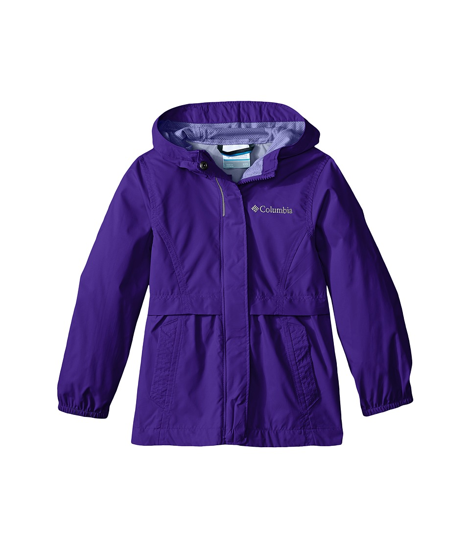 Columbia Kids Pardon My Trench Rain Jacket Little Kids/Big Kids Light Grape Girls Coat