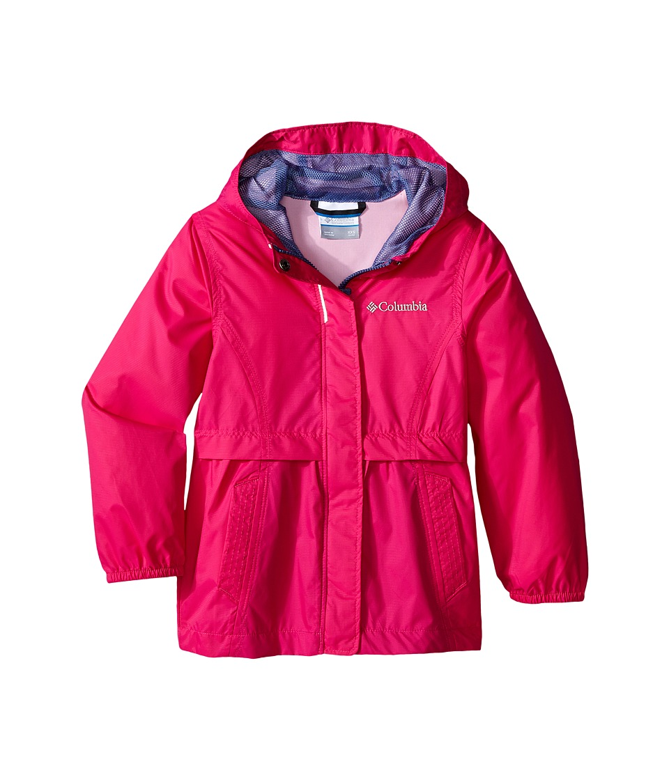 Columbia Kids Pardon My Trench Rain Jacket Little Kids/Big Kids Haute Pink Girls Coat