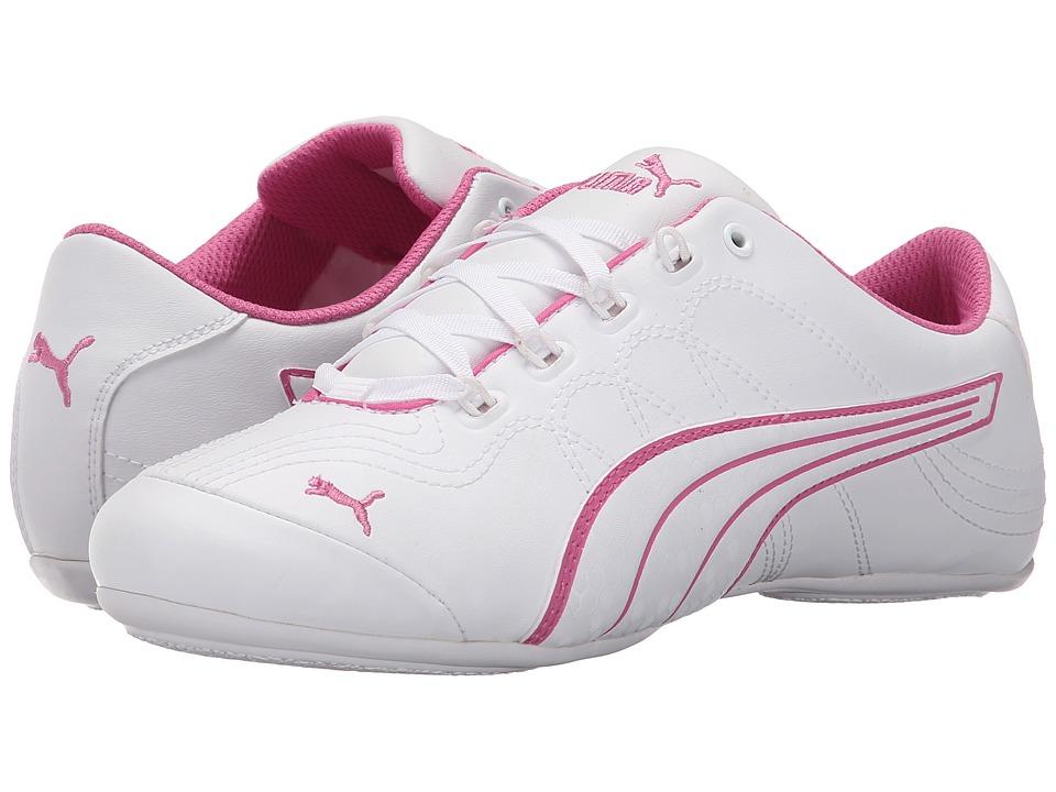 PUMA Soleil v2 Comfort Fun White/White/Phlox Pink Womens Shoes