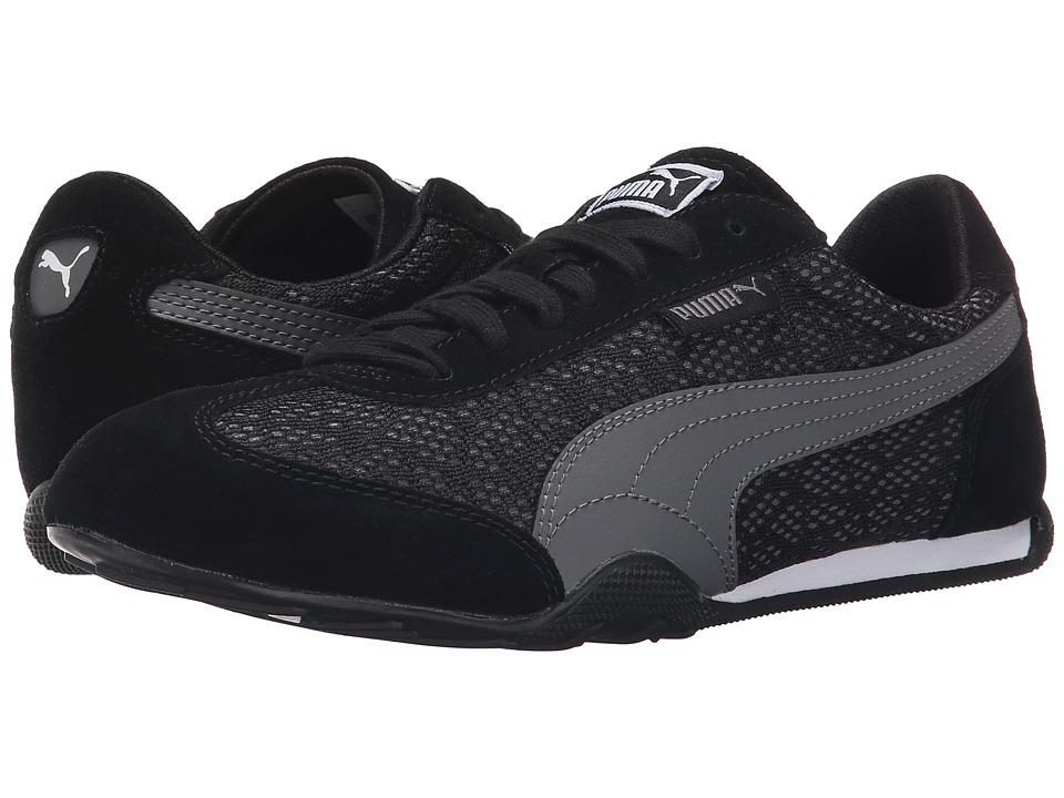 PUMA 76 Runner Animal Black/Steel Gray Womens Shoes