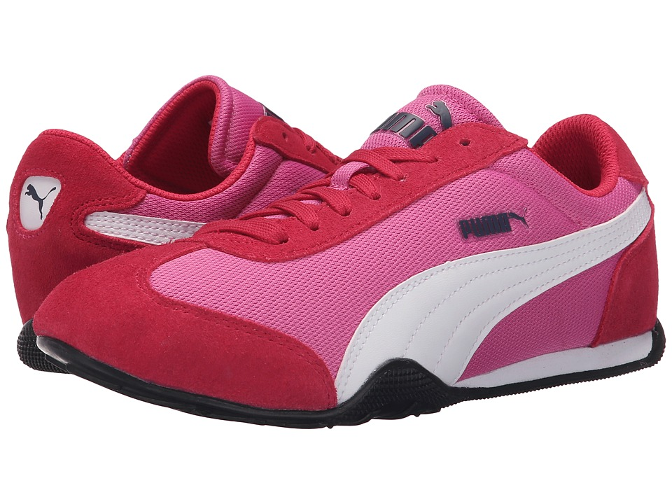PUMA 76 Runner Fun Mesh Phlox Pink/White Womens Shoes