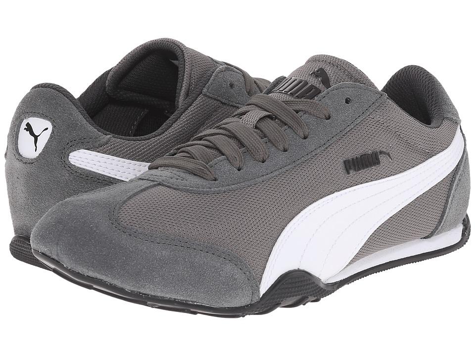 PUMA 76 Runner Fun Mesh Steel Gray/White Womens Shoes