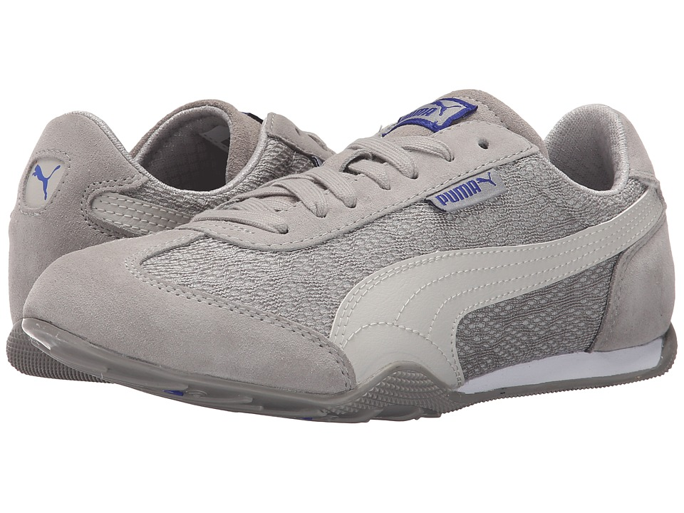 PUMA 76 Runner Animal Drizzle/Glacier Gray/Dazzling Blue Womens Shoes