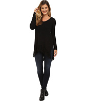Karen Kane - Fringe V-Neck Sweater