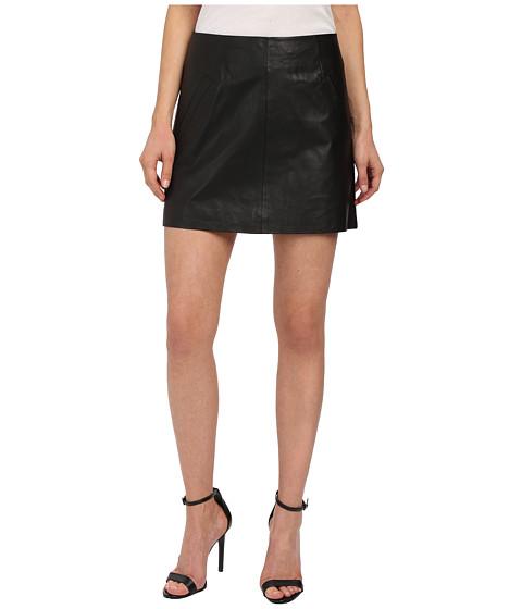 bb dakota ian leather mini skirt