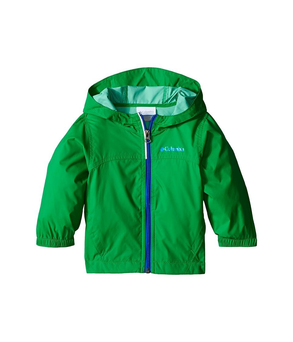 Columbia Kids - Glennaker Rain Jacket (Toddler) (Fuse Green) Boy
