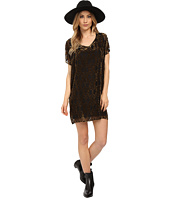BB Dakota - Milan Burnout Velvet Poncho Dress
