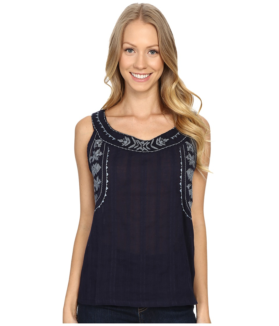 Carve Designs Harbour Tank Top Anchor Womens Sleeveless