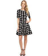 Karen Kane - Contrast Dot Scuba Dress