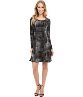 Karen Kane - Long Sleeve Print Dress
