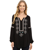 Karen Kane - Embroidered Peasant Shirt
