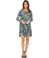 Karen Kane - Aquarius Print Swing Dress