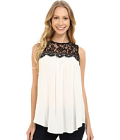 Karen Kane - Lace Yoke Top