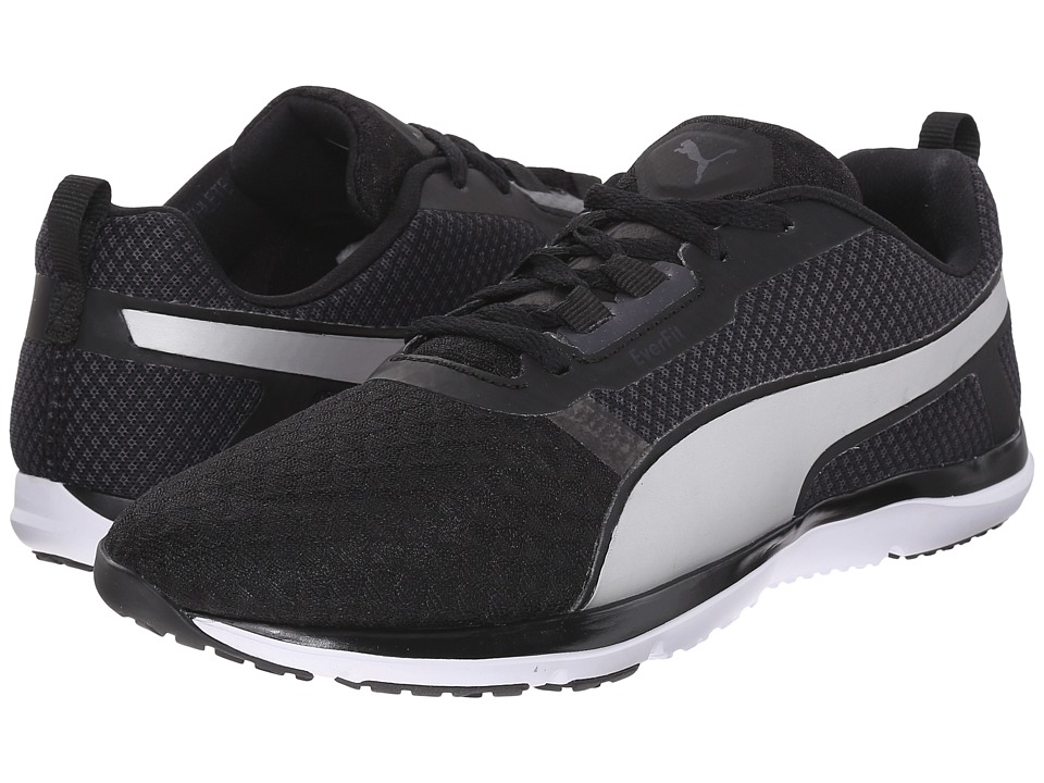 PUMA Pulse Flex XT Core Black/White/Puma Silver Womens Shoes