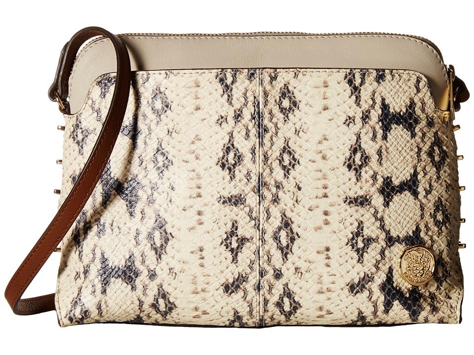 Vince Camuto - Mindi Crossbody (Neutral/Parchment) Cross Body Handbags