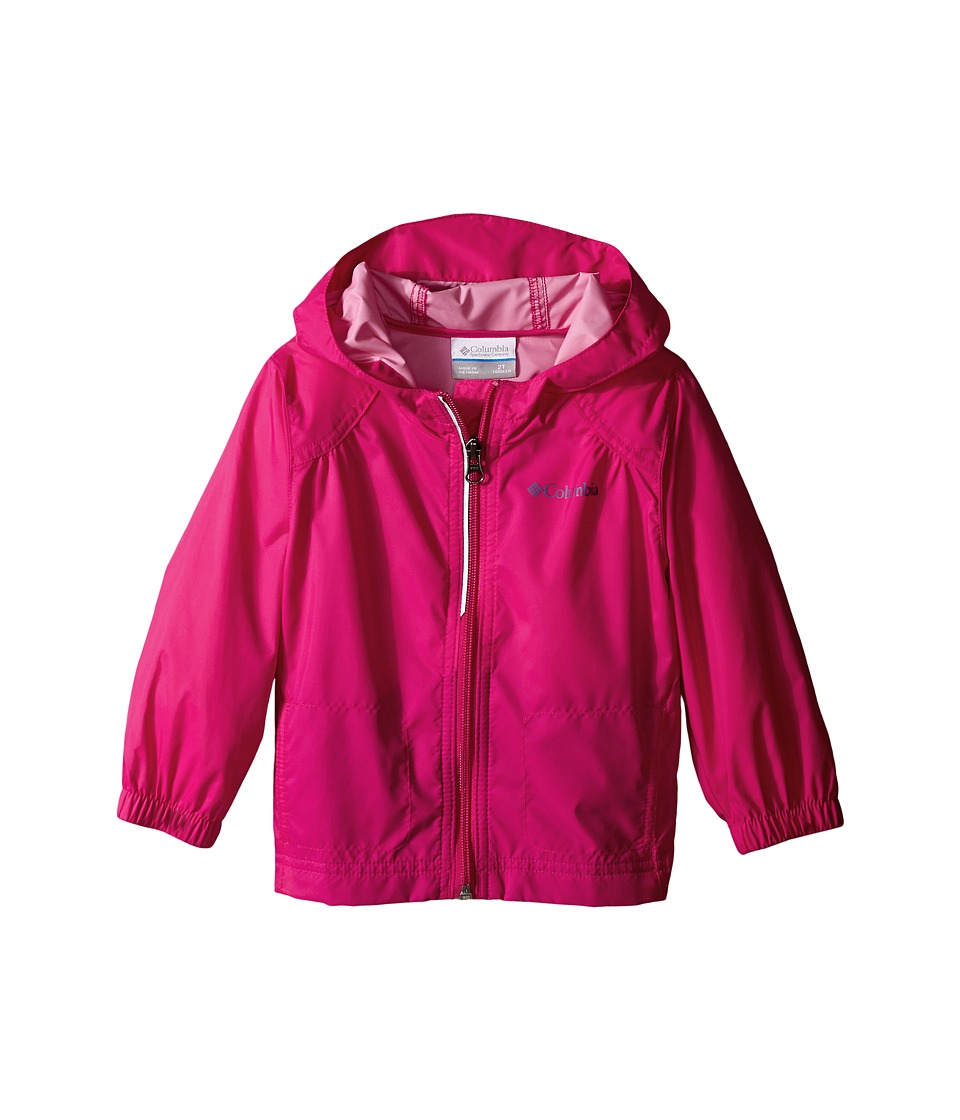 Columbia Kids Switchback Rain Jacket (Toddler) (Haute Pink) Girl