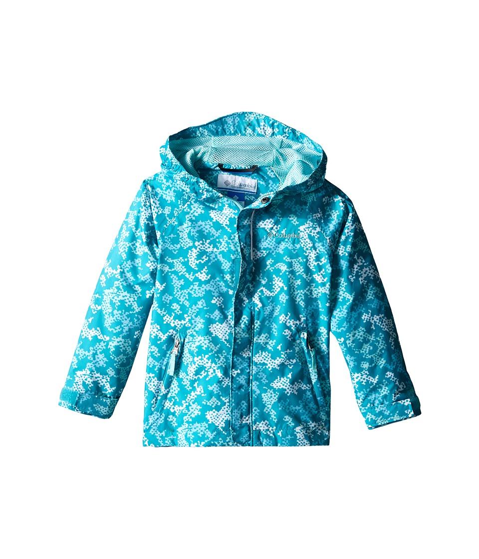 Columbia Kids Fast Curious Rain Jacket Toddler Miami Camo Girls Jacket