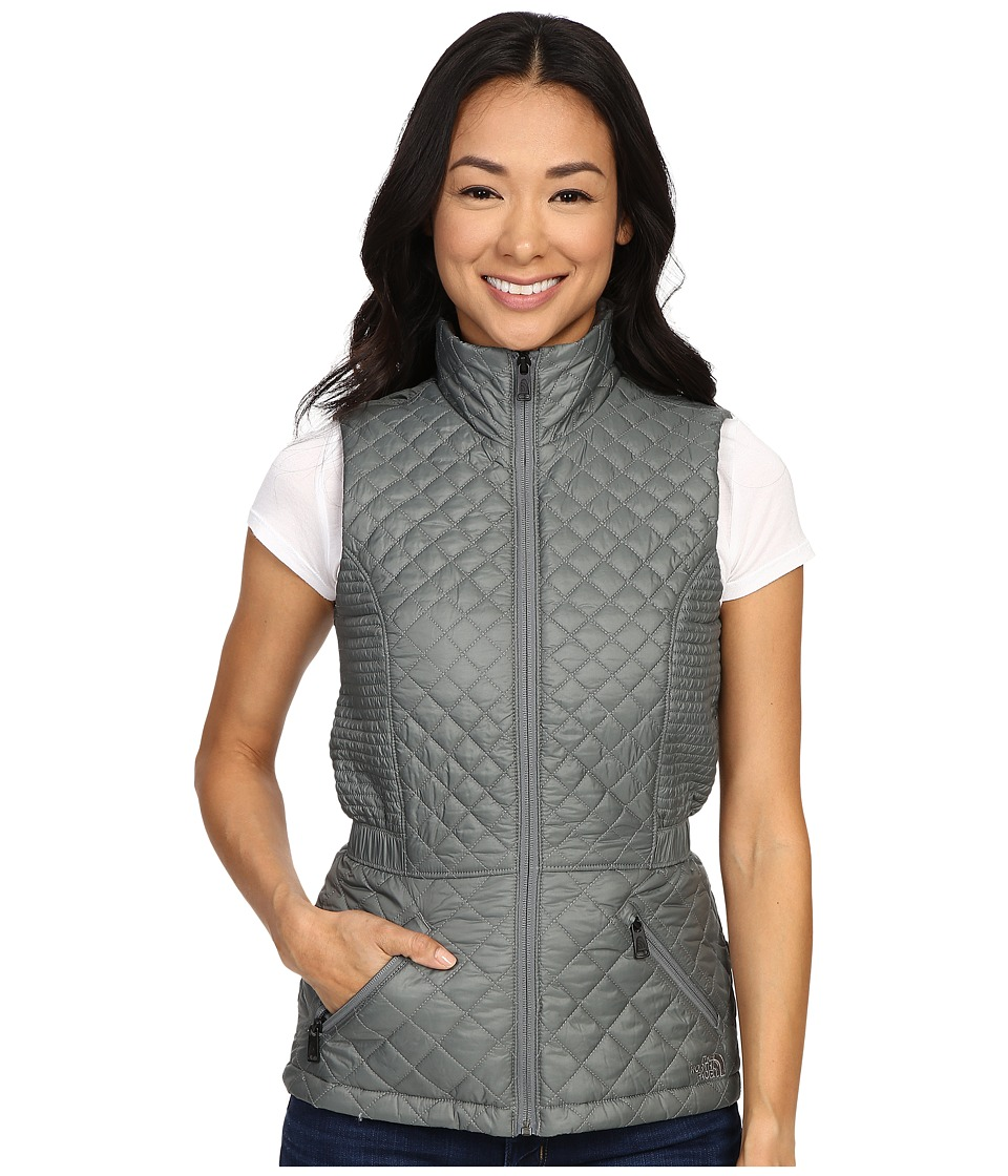 The North Face Insulated Luna Vest Sedona Sage Grey Womens Vest