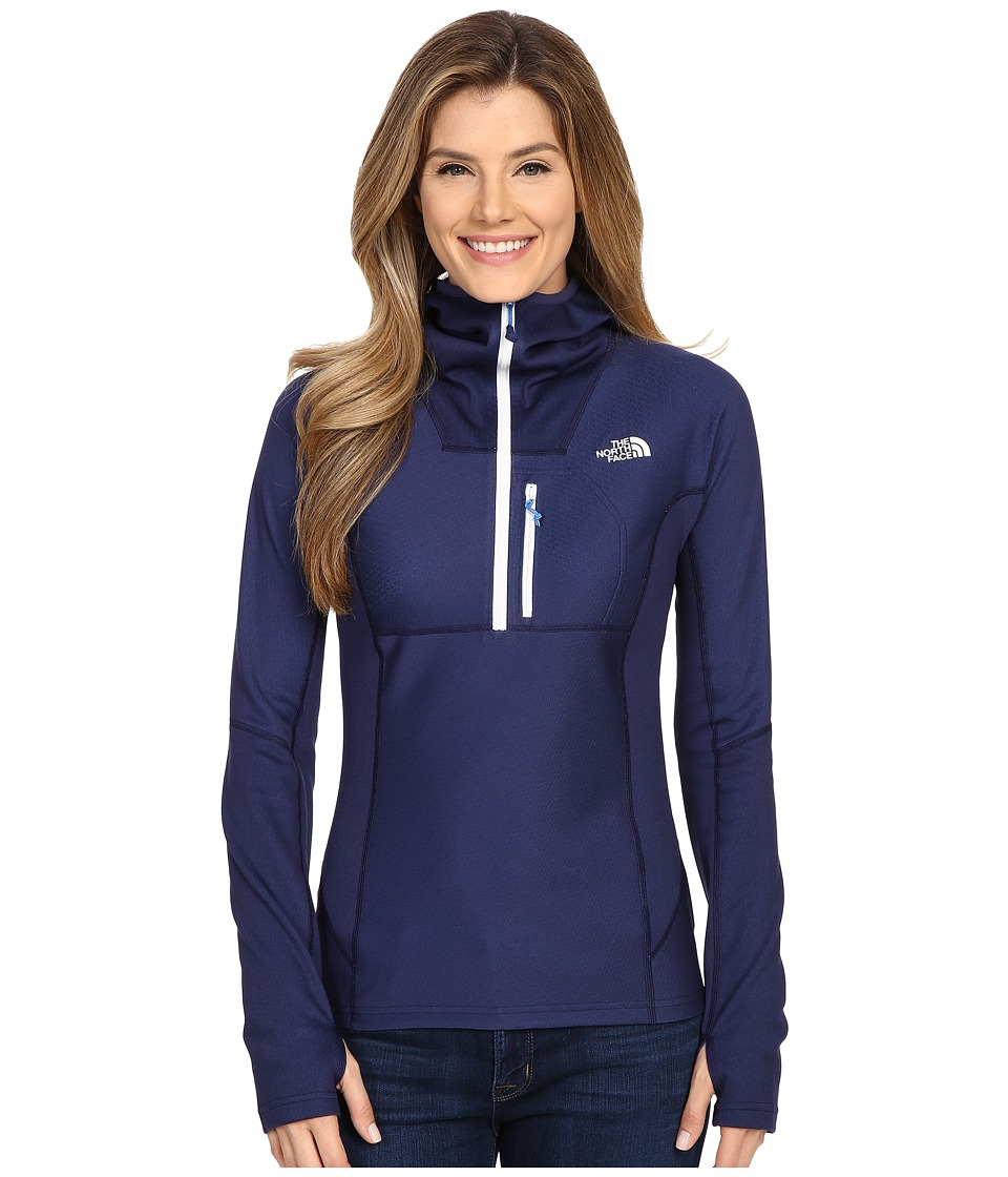The North Face FuseForm Dolomiti 1/4 Zip Hoodie Patriot Blue Fuse Womens Sweatshirt