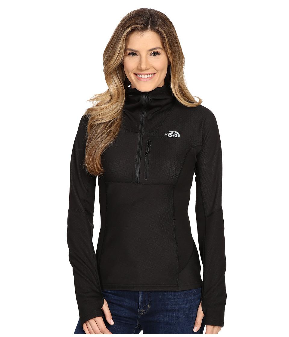 The North Face FuseForm Dolomiti 1/4 Zip Hoodie TNF Black Fuse Womens Sweatshirt