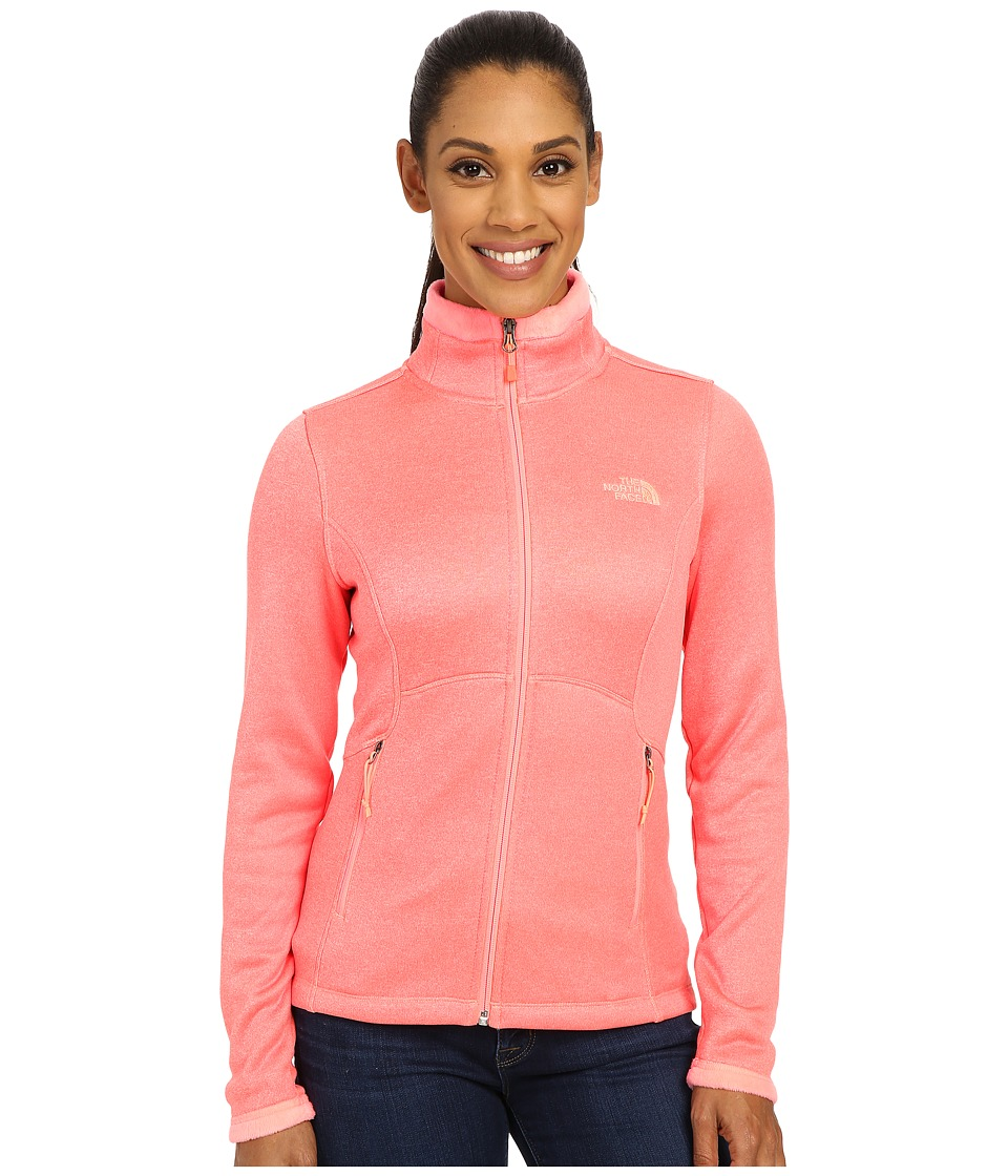 The North Face Agave Jacket Neon Peach Heather Womens Coat