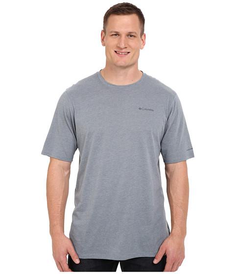 Columbia Big & Tall Silver Ridge Zero™ Short Sleeve Shirt - Grey Ash Heather
