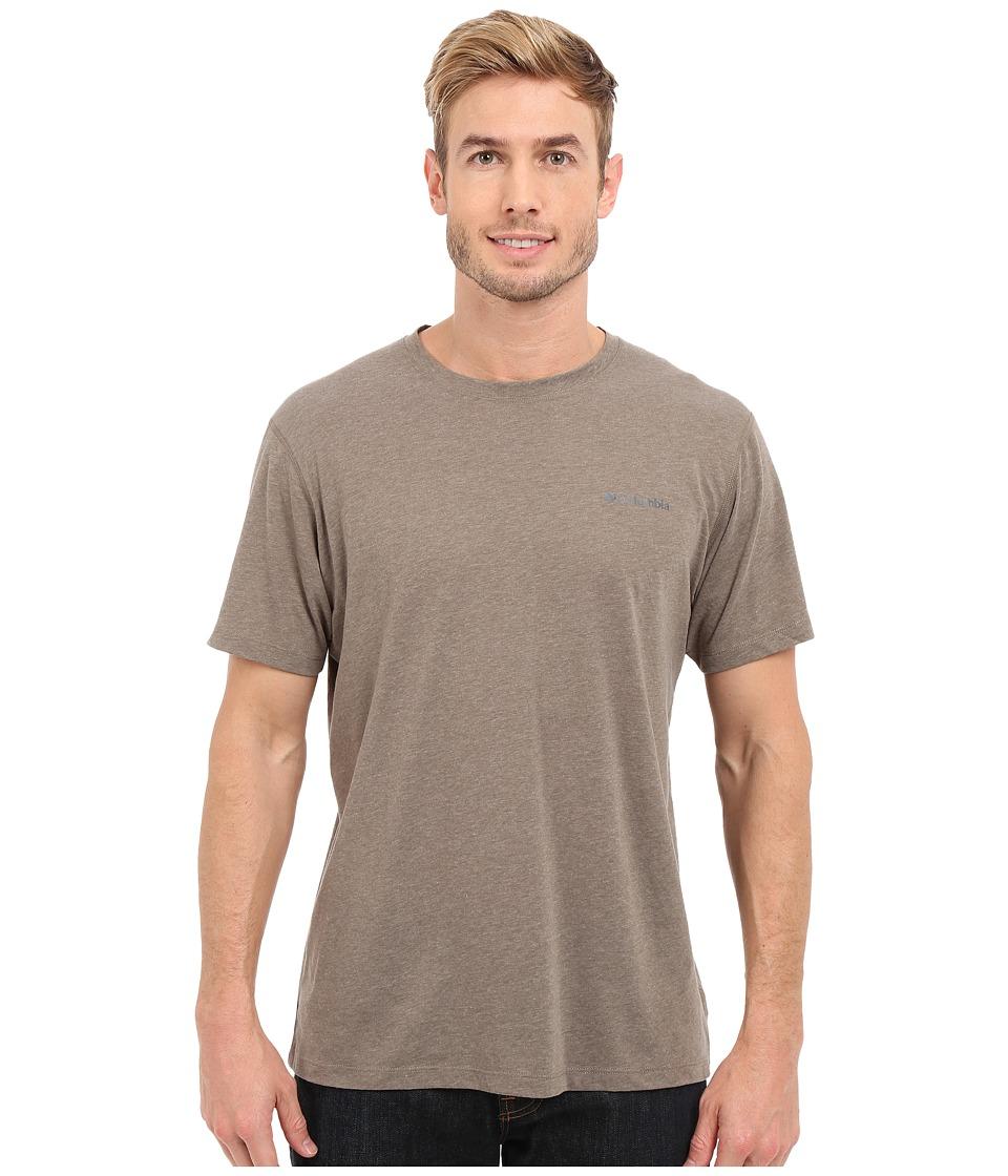 Columbia - Silver Ridge Zero Short Sleeve Shirt (Wet Sand Heather) Men