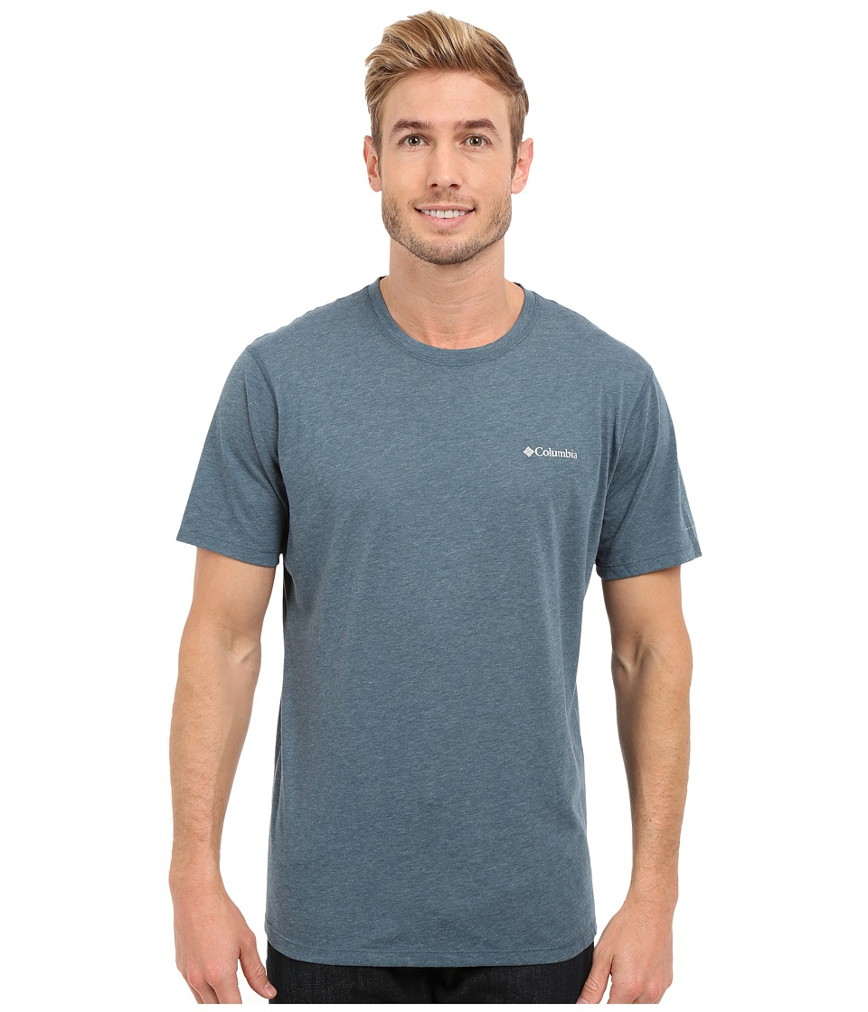 Columbia - Silver Ridge Zero Short Sleeve Shirt (Everblue Heather) Men