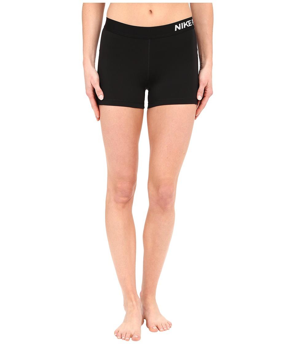 Nike Pro 3 Cool Compression Training Short (Black/White) Women