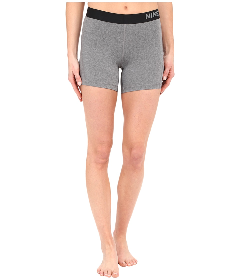 Nike Pro 5 Cool Training Short (Dark Grey/Heather/Black) Women