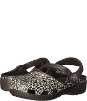 Crocs Kids - Karin Leopard Clog (Toddler/ Little Kid)
