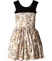 fiveloaves twofish - Paris Party Map Dress (Little Kids/Big Kids)