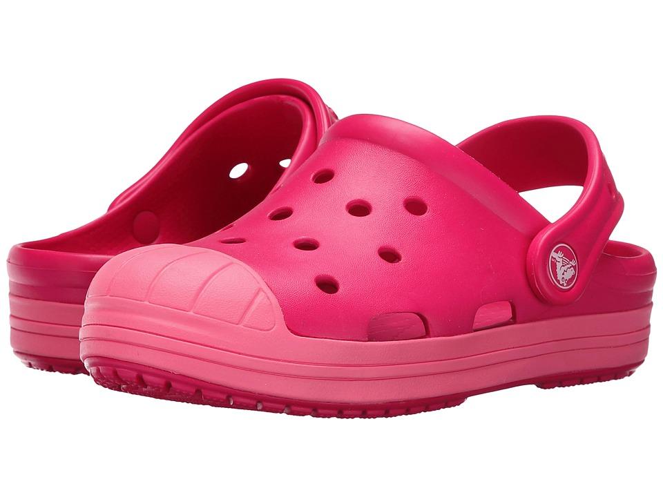 Crocs Kids Bump It Clog Toddler/Little Kid Raspberry Girls Shoes