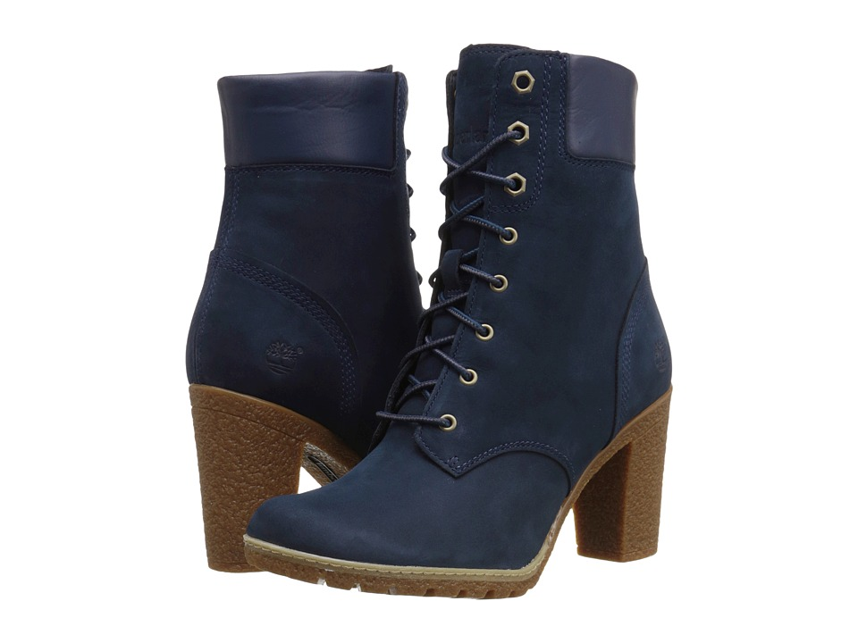 Timberland - Earthkeepers Glancy 6 Boot (Navy Nubuck) Women