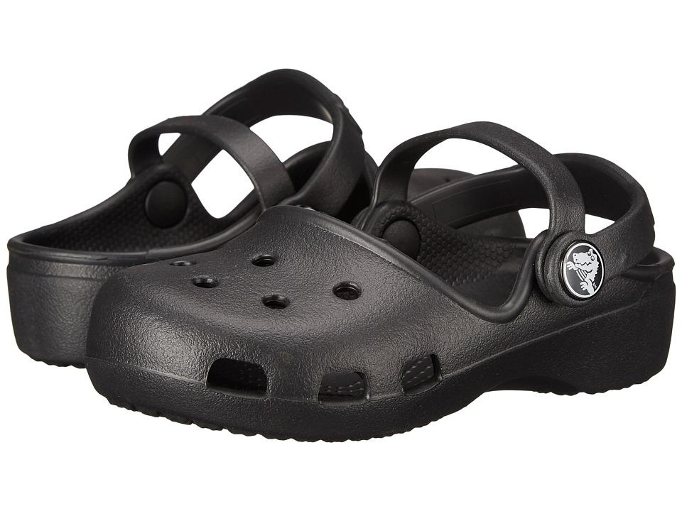 Crocs Kids Karin Clog K Toddler/Little Kid Black Girls Shoes