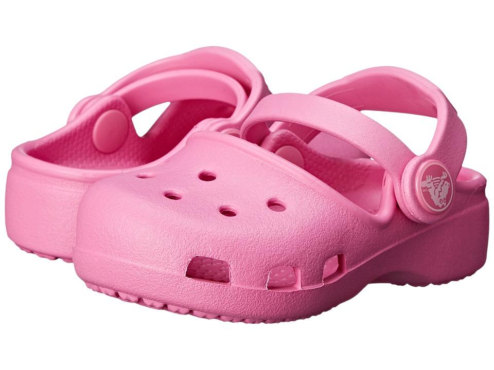 Crocs Kids Karin Clog K Toddler/Little Kid Party Pink Girls Shoes