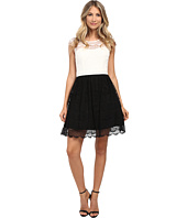 Jessica Simpson - Color Block Lace Dress