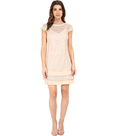 Jessica Simpson - Shift Lace Dress w/ Lurex